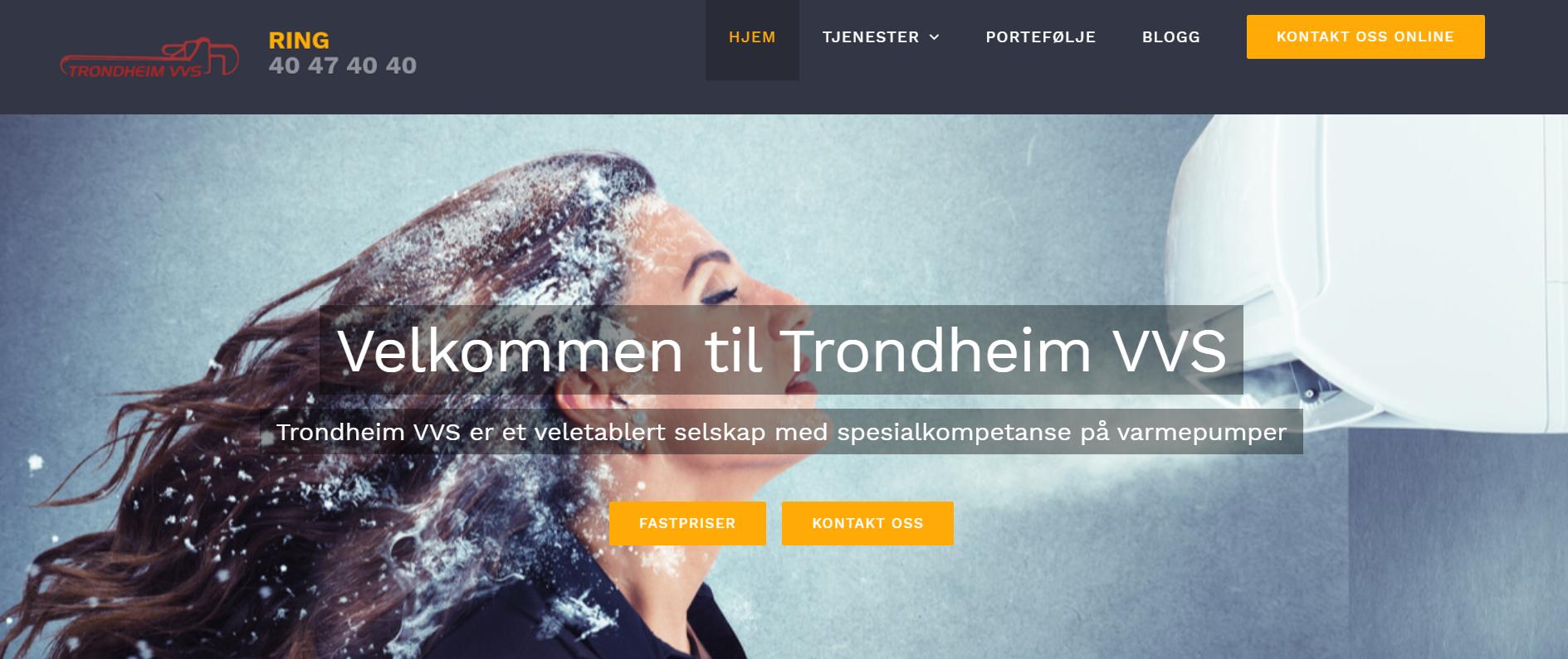 Trondheim VVS Varmepumpe
